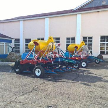 Подготовка к сельскохозяйственной выставке. Посевной комплекс Р-4.2